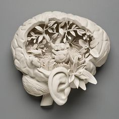 Epic Porcelain Human and nature inspired sculptures!