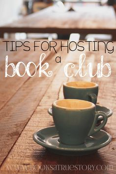 Tips for Hosting a book club. Read the best ways of running a book club and start one of your own today!
