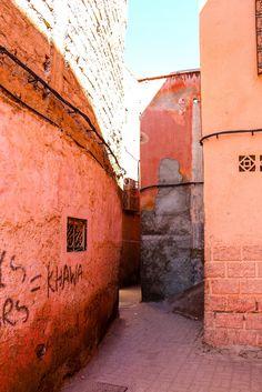 Streets in Marrakech, Morocco by Pinvi #pinvi2015