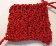 Tunisian Honeycomb Stitch
