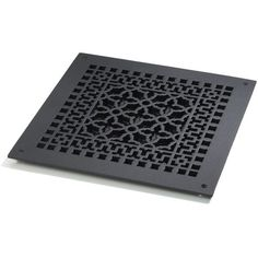 Shop for the Cast Iron Scroll Return Air Grate by Reggio Register Company and compare to other Cast Iron Air Return Grilles. This heavy duty cast iron air vent cover is cast