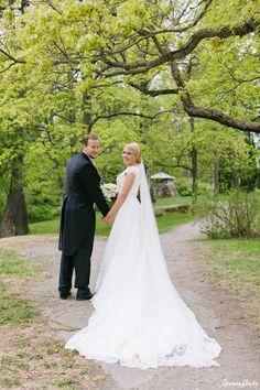 Sanna and Ville's Royal-Inspired Tampere Wedding European Wedding, Decadent Cakes, Horse Drawn, Groom, Weddings, Bride, Inspired, Elegant, Wedding Dresses