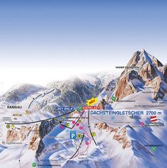 Dachstein Gletscher Austria, Mount Everest, Skiing, Snow, Mountains, Nature, Travel, Dance Floors, Summer Vacations