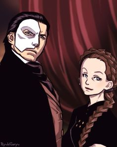 Erik and Madame Giry