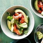 Prawn & Avocado Salad (NB: The picture is not correct)  - Made dressing exactly like recipe & was perfect