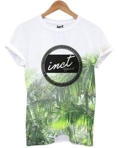 Green Palm INCT Logo T Shirt