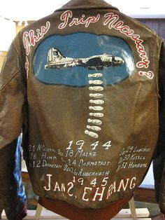 WWII Bomber Jacket by bjmccray, via Flickr