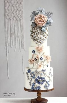 BEAN PASTE wedding cake by Jessica MV