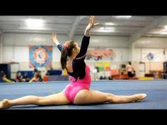 Level 5 Gymnastics - YouTube