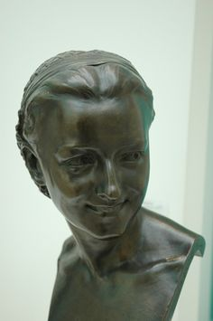 Anna Foucart par Jean Baptiste Carpeaux ( Musée de Valenciennes ) Statues, Carpeaux, French Sculptor, Auguste Rodin, Rogues, Terracotta, Les Oeuvres, Bronze, Portrait