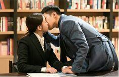 K I S S!  #AKoreanOdyssey #OhYeonSeo #LeeSeungGi #Hwayugi