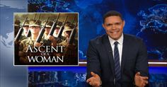 Military Draft for Women - The Daily Show with Trevor Noah (Video Clip) Trevor Noah, The Daily Show, Comedy Central, Video Clip, Really Funny, Proposal, Jokes, Entertaining, Chistes