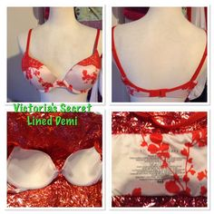 VS lined Demi Victoria's Secret lined Demi 36B, previously loved but in good condition. Victoria's Secret Intimates & Sleepwear Bras