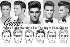 Hairstyles For Men According To Face Shape Men's Hairstyleshaircuts For Triangle Face Shapes  Face Shape