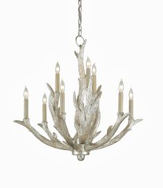 Rittenburg Antique Silver Antler Modern Rustic Lodge 9 Light Chandelier: A romantic meets rustic in this antique shimmering silver chandelier. 27 inches high x 28 inches wide x 28 inches deep. Antler Lights, Antler Chandelier, Silver Chandelier, Rustic Chandelier, Chandelier Ceiling Lights, Mini Chandelier, Contemporary Chandelier, Antler Lamp, Silver Candelabra