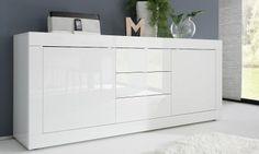 Credenza 2 Ante Ikea : Credenza madia moderna primo line con inserto centrale 4 ante 1
