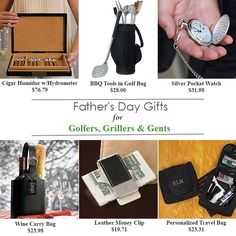 Fathers Day Gift Ideas for Golfers, Grillers & Gents #fathersdaygifts  #fathersdaygiftideas