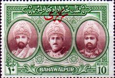 Bahawalpur 1949 Silver Jubilee Set Fine Mint SG Scott 39/42 Other Bahawalpur Stamps for sale HERE
