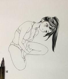 博(@siiteiebahiro)さん | Twitterからの返信付きツイート Super Images, School Life, High School, Manga Characters, Kawaii Girl, Art Sketchbook, Beautiful Artwork, Illustration Art, Illustrations