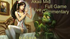 Diamond 2 Mid Akali vs LeBlanc live commentary https://youtu.be/L7zYpkqtCnA #games #LeagueOfLegends #esports #lol #riot #Worlds #gaming