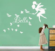 Isabella & Max Rooms: Street of Dreams Portland Style - House 5 Baby Bedroom, Girls Bedroom, Bedroom Ideas, Bedrooms, Girl Decor, Baby Decor, Fairy Nursery, Butterfly Kids, Nursery Twins