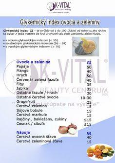 glykemicky index Dieta Detox, Diabetes, Life Is Good, Food And Drink, Entertainment, Health, Fitness, Anatomy, Gymnastics