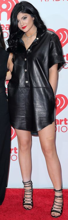 Kylie Jenner at the iHeartRadio Music Festival held at the MGM Grand Garden Arena in Las Vegas, Nevada on September 22, 2013