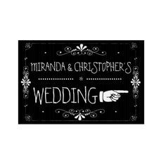Shop Chalkboard Wedding Sign Right Arrow Custom Yard Signs, Arc Notebook, Silhouette Cameo Tutorials, Chalk Lettering, Learn Calligraphy, Corrugated Plastic, Chalkboard Wedding, Planner Pages, Copic Markers