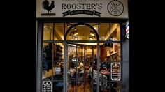 Roooster's Barbershop Athens editorial for Panormou district of Athens