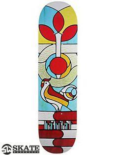 #Habitat Garcia Stained Glass #Skateboard #Deck 8.0 x 31.5 $49.99