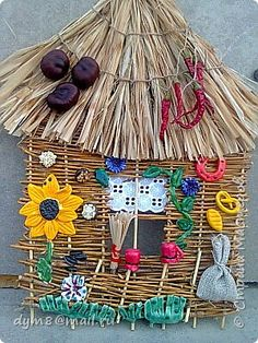 Поделка изделие Плетение ОБЕРЕЖКИ И КОЕ КТО  ЕЩЕ   фото 1 Rattan, Wicker, Home Decor, Lighthouse, Bamboo, Decoration Home, Room Decor, Home Interior Design, Home Decoration