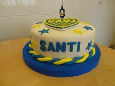 tortas decoradas de boca juniors - Buscar con Google Boca Jr, Birthday Cake, Birthday Ideas, Ale, Desserts, Food, Google, Tortilla Pie, Pastries