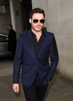 Pin for Later: Richard Madden: From Game of Thrones to Lady Chatterley's Lover And looks cool in shades.