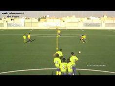 Exercices de passes football: créer et occuper l'espace - YouTube