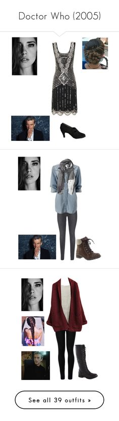"""""""Doctor Who (2005)"""" by caityjayde ❤ liked on Polyvore featuring J Brand, Skechers, Furla, Wolford, Rodarte, Diesel, American Vintage, Marchesa, Topshop and Glamorous"""
