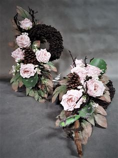 Cemetery, Diy And Crafts, Floral Wreath, Wreaths, Home Decor, Floral Crown, Decoration Home, Door Wreaths, Room Decor