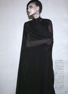 the reluctant mistress: snejana onopka by glen luchford for vogue japan july 2011