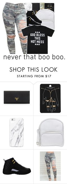 """""""05-08-2016."""" by trillestqueen ❤ liked on Polyvore featuring Prada, Topshop, Jil Sander Navy and NIKE"""