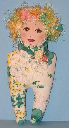 Birthday Hankie Doll 2 6-4-08 | Flickr - Photo Sharing!