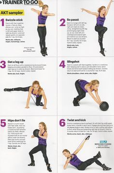 Top trainer Anna Kaiser of AKT in Motion in SELF magazine. www.brooklynfitchick.com