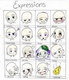 chibi eyes drawing tutorial Google Search Eye drawing Drawing expressions Chibi drawings