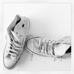 converse...all stars  I had alot of pairs of these in the 80's