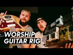 Guitar Lessons For Kids, Guitar Rig, Worship Leader, Rigs, Electric, Tech, Youtube, Wedges, Technology