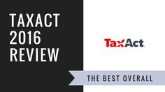 TaxAct 2016 Review