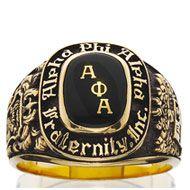Alpha Phi Alpha ring