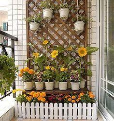Цветы на балконе: 16 вариантов дизайна балкона