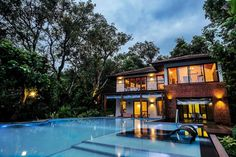 These 12 Exclusive Private Villas in Goa are Irresistible: The Brook, Socorro Luxury Villa, Luxury Life, Luxury Living, Luxury Real Estate, Luxury Homes, Goa Travel, Luxury Travel, Enjoy Your Vacation, Staycation