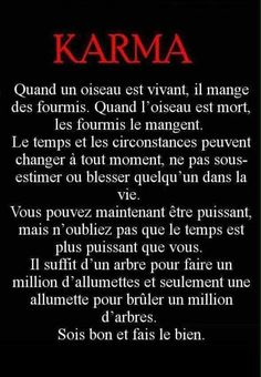 Le Karma c'est ma vie❤️ Karma Quotes, Life Quotes Love, Words Quotes, Positive Attitude, Positive Quotes, Motivational Quotes, Inspirational Quotes, Citations Karma, Amazing Quotes