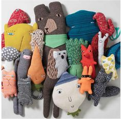 Donna Wilson Knit Creatures - www.donnawilson.com