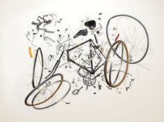 This is what happens to your bike after it's stolen #bicicleta #bike